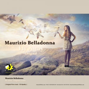 maurizio belladonna, fly away original, record cover design.