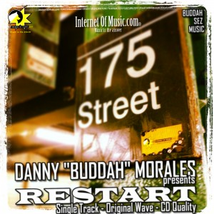 record cover design for danny buddah morales.